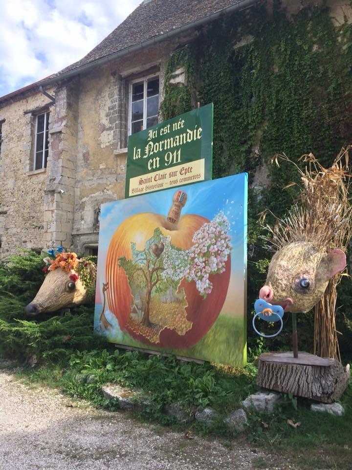Land Art à Saint-Clair sur Epte