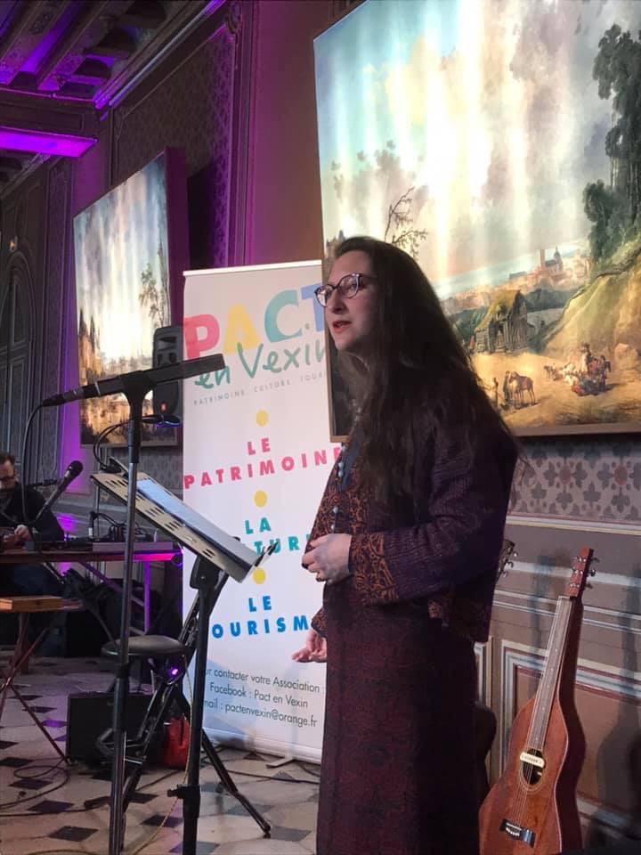 Printemps des poètes 2019 à la Roche-Guyon