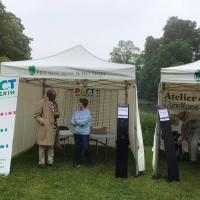 Stand tenu par Pact en Vexin à la journée vélo du 19 mai 2019  à Théméricourt