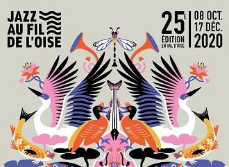 Affiche jazz au fil de l oise 2020 detail