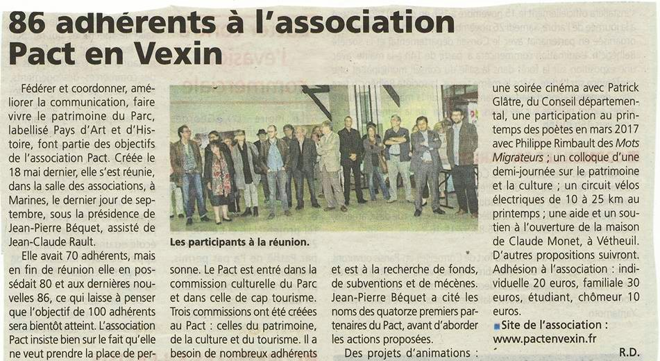 Article la gazette 9 novembre 2016