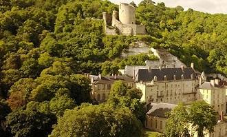 Chateau de la roche guyon detail